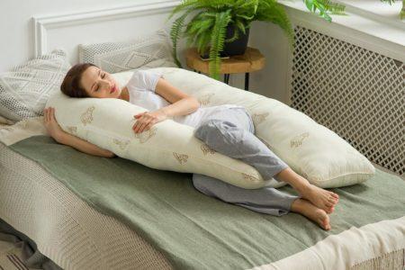 правильное положение для сна во время беременности